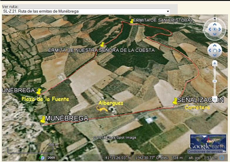 Ruta de las Ermitas, Munébrega