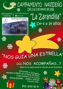 Campamento Navideño, La Zarandilla, Munébrega