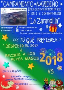 Campamento Navideño 2017, La Zarandilla