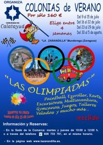 Munébrega Colonias Verano 2018