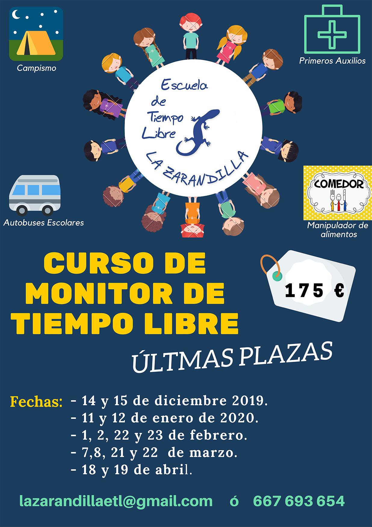 Curso de Monitor de Tiempo Libre, La Zarandilla, 2020 - Munébrega