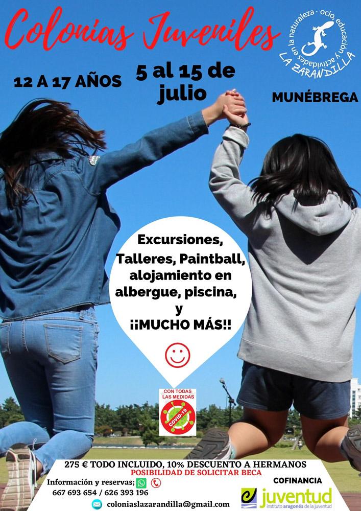 La Zarandilla, Colonias Juveniles