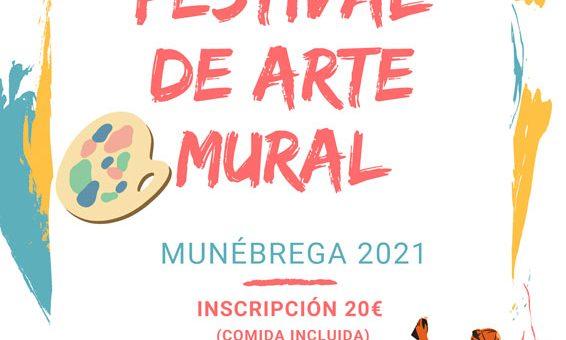 Munébrega, Festival Arte Mural